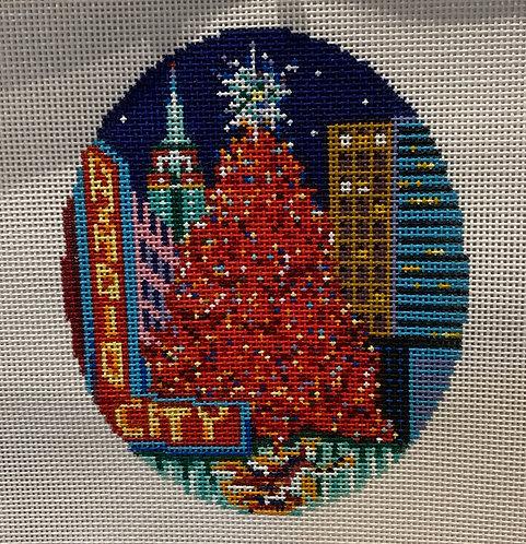 DJ Designs Radio City Rockefeller Tree Ornaments