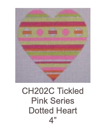 Eye Candy CH202C Tickled Pink Dotted Heart