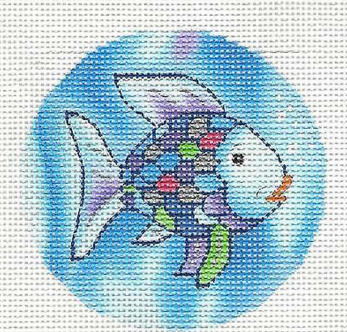 Rainbow Fish Round