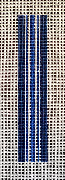 AF 62 Anne Fisher Key Fob - Navy Stripe
