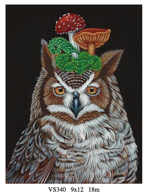 Melissa Shirley VS340 Great Horned Owl
