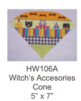 Eye Candy HW106A Witch's Accessories Cone