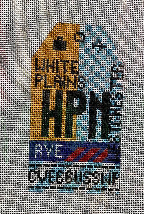 HedgeHog HPN White Plains/Westchester Airport Tag