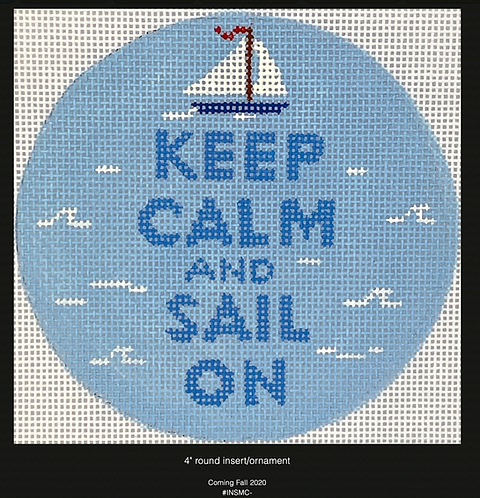 Kate Dickerson Keep Calm and Sail On