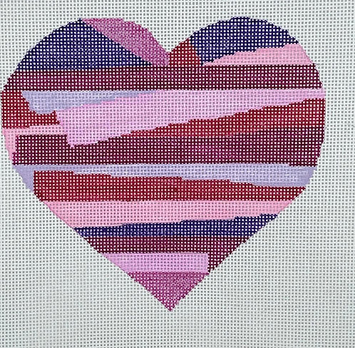 CabellStitchery Heart - 18 mesh