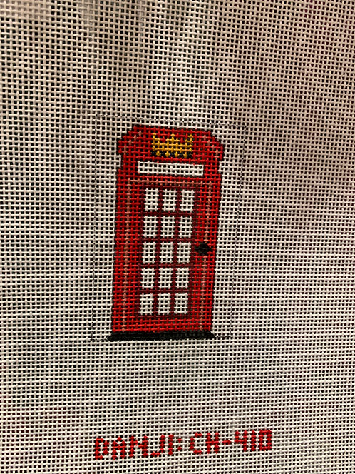 CH 410 Telephone Booth Luggage Tag Insert