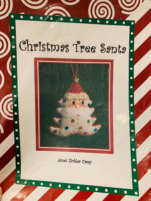 Christmas Tree Santa with Stitch Guide