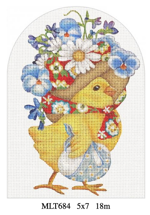 Melissa Shirley MLT684 Pansy Chick