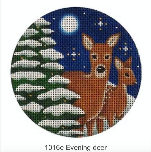 Rebecca Wood 1016e Evening Deer