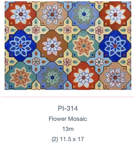 Meredith Bag PL-314 Floral Mosaic