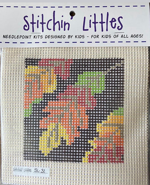 Stitchin' Littles SL-31 Leaves