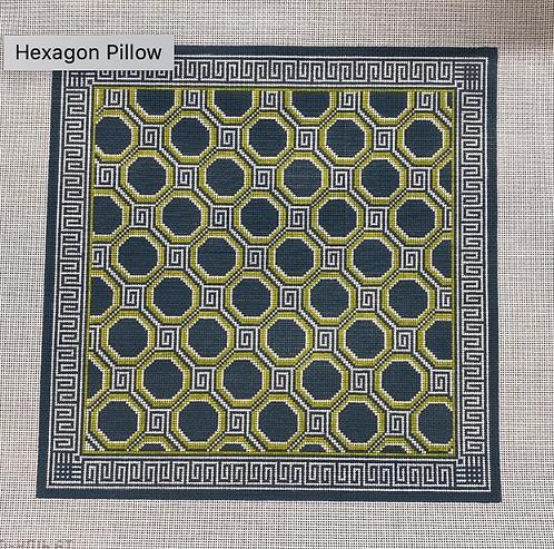KCN Hexagon Pillow - 13 Mesh