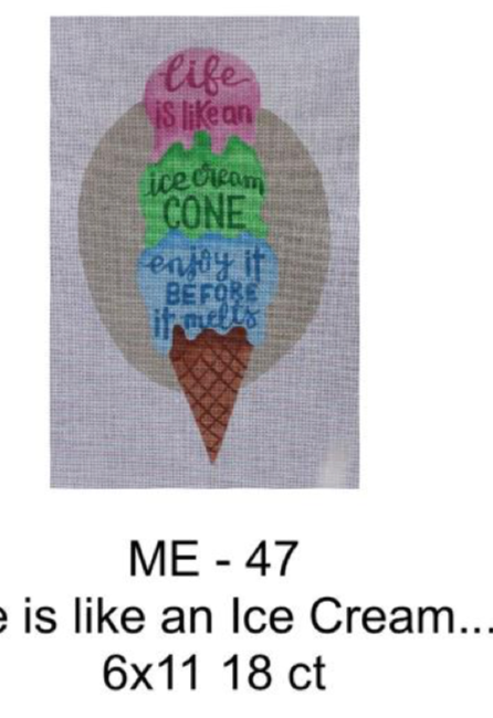 Madeleine Elizabeth Life is Like and Ice Cream Cone