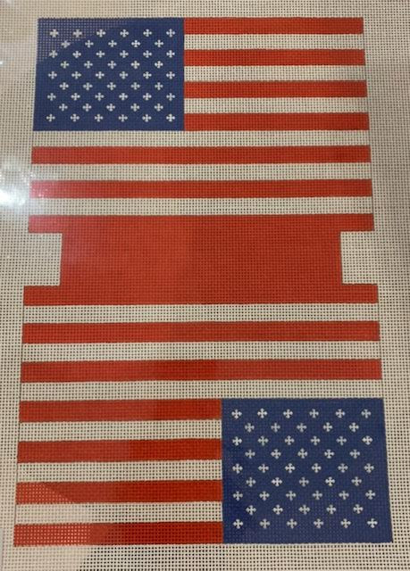 MB11 American Flag MB Small Double Sided Bag