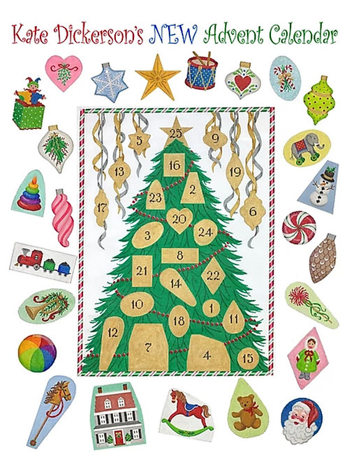 Kate Dickerson Advent Tree - BRAND NEW