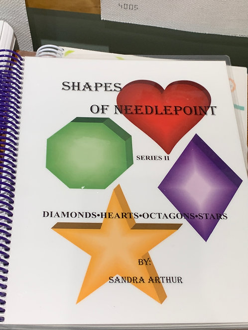 copy of copy of Shapes of Needlepoint Vol. 2
