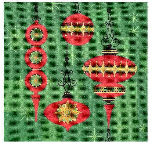 Melissa Prince KB-01 Christmas Ornaments