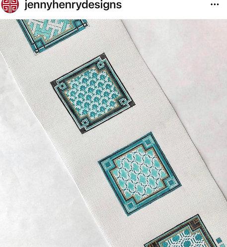 Jenny Henry Teal/Aqua Coasters