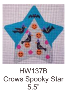 Eye Candy HW137B Spooky Star - Crows