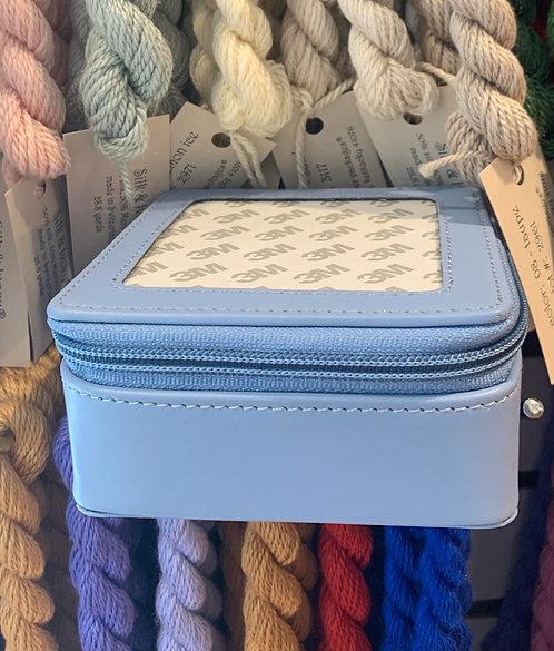 Baby Blue Jewelry Case