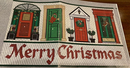 Meredith Collection Merry Christmas Doors