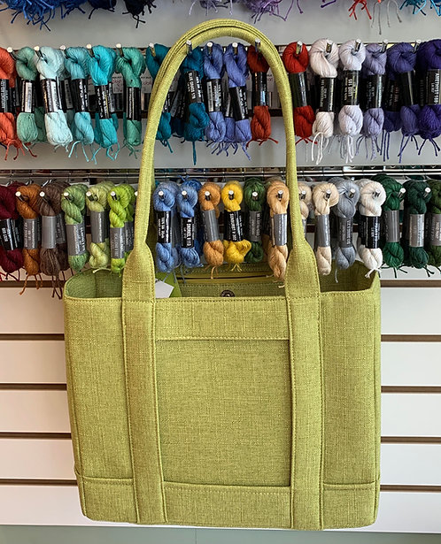 """NEW Seagrass Turtle Bag Tote with Zipper closure - takes 5.5x7"""" Insert"""