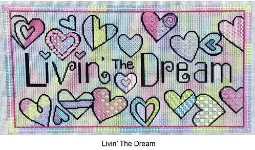 Sew Much Fun Livin' The Dream 18 mesh