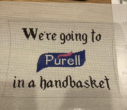 We're going to Purell
