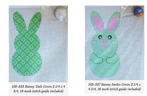 Danji Green Bunny Front/Back