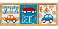 AP3729 Zoom Beep Honk Cars