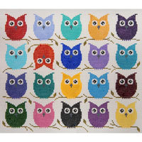 JP Needlepoint Colorful Hooters