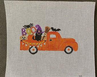 Marianne Lynn Designs Halloween Truck
