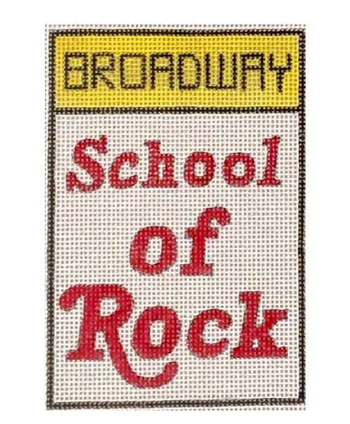 Raymond Crawford Playbill - School of Rock