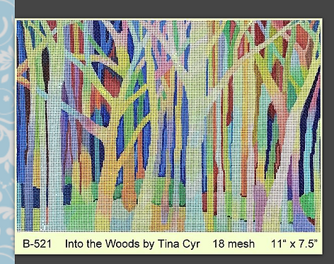 Brenda Stofft - Into the Woods 18 mesh