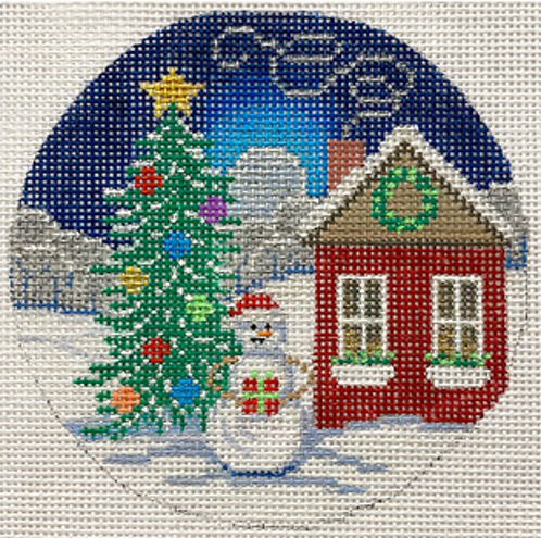 AP x499 Snowman, Tree and House Ornament