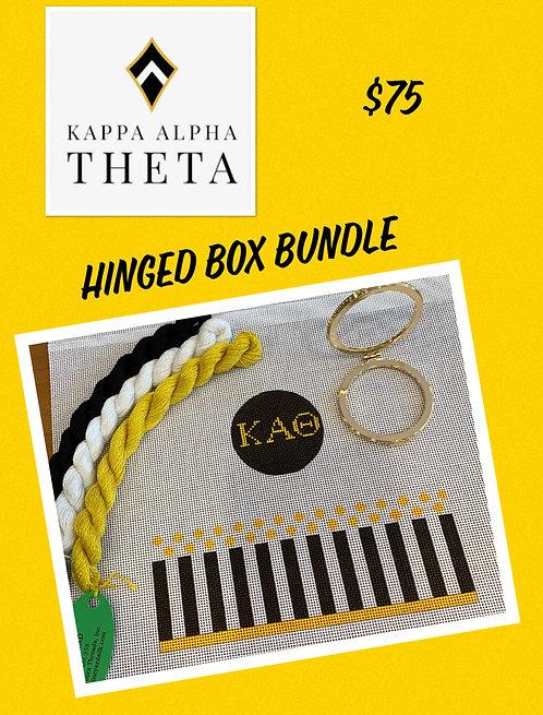 Kappa Alpha Theta Hinged Box Grab and Go Bundle