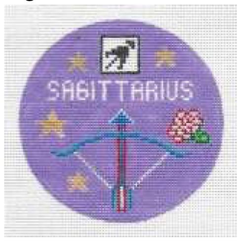 Doolittle Sagittarius Round - 18 mesh