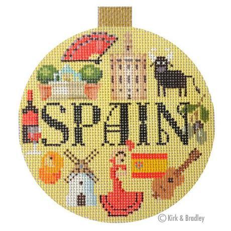 KB 1336 Spain Round