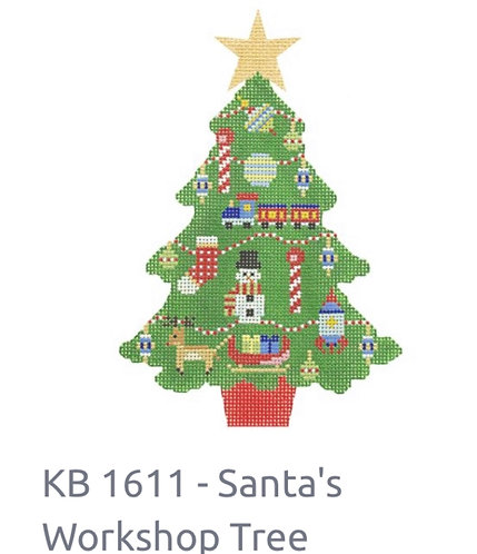 KB 1611 Santa's Workshop Tree