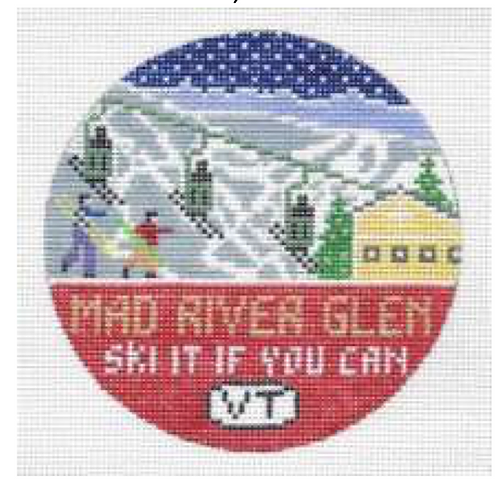 Doolittle Ski Rounds 18 mesh Mad River Glen