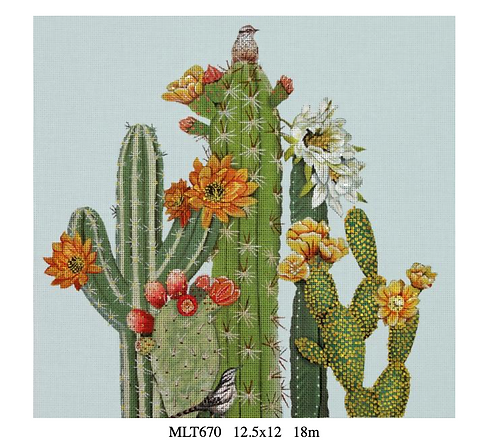 Melissa Shirley MLT670 Cactus and Bird