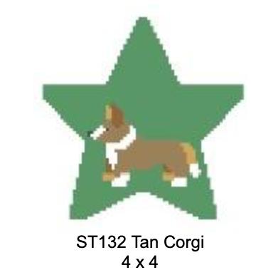 Kathy Schenkel ST132 Tan Corgi