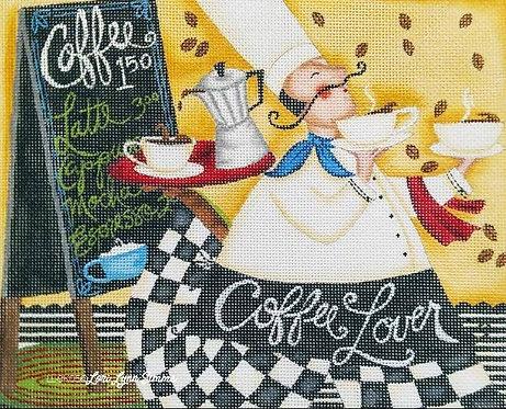 Lori Lynn Simms LLCK05 Coffee Lover