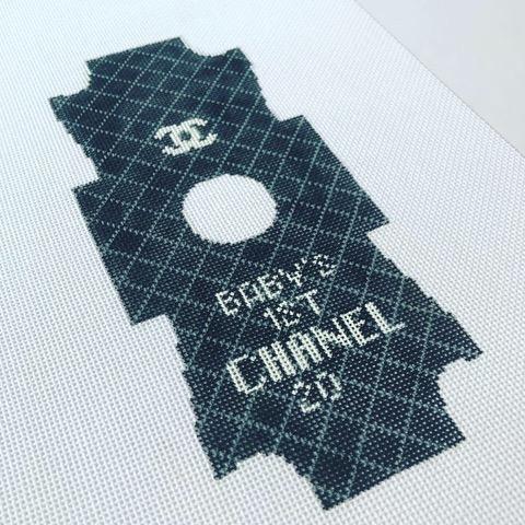 Kimberly Ann Designer Inspired Onesie Ornament BFC-08B