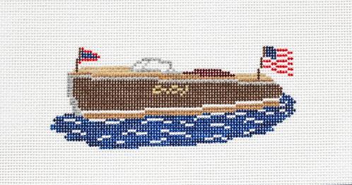 Morgan Julia Designs MJD-51 Wooden Boat