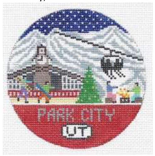 Doolittle Ski Rounds 18 mesh Park City