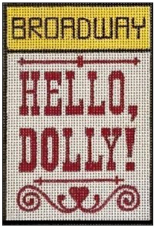 Raymond Crawford Playbill - Hello Dolly