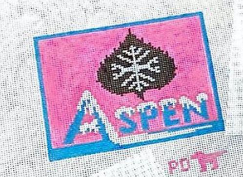 Poppys Needlepoint Vintage Aspen Patch