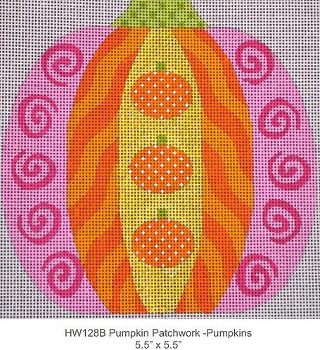 Eye Candy HW128B Pumpkin Patchwork Pumpkins