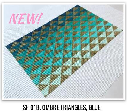 SF-01B Ombre Blue - 13 mesh